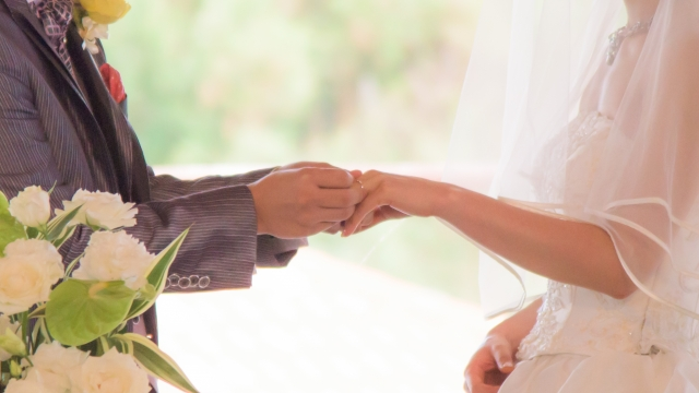 結婚の写真